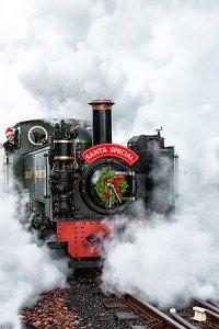 Rheidol Railway Santa Train ©